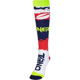 O'Neal Pro MX Socken rot/blau